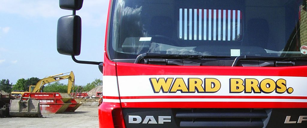 ward bros lorry
